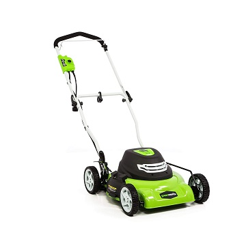Greenworks Corded Electric Lawn Mower 25012