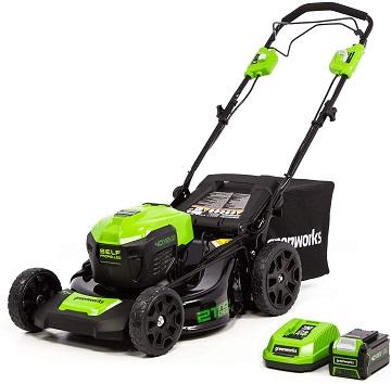 Greenworks LMF403