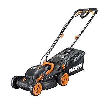 WORX WG779 mulching lawn mower