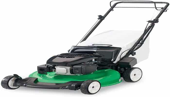 best self propelled lawn mower with electric start